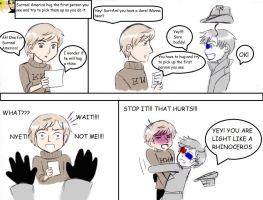 Hetalia art college Dare_Surreal America by EPH-SAN1634