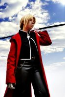 Edward Elric: Behind the sky by Majin-sama