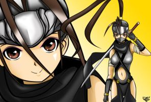 Ibuki and the Hayabusa Ninja clan by RevolutionBoi