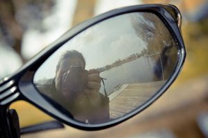 Sunglasses Reflection by SirBiggithBrian