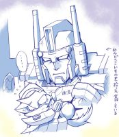 IDW ULTRAMAGNUS and RODIMUS CAT by YUKIZARASI