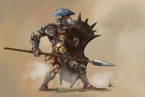 gladiator concept3 by TheBeke