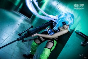 Sinon Cosplay by RenzGabriel