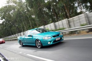 Ford XR6 Ute by small-sk8er