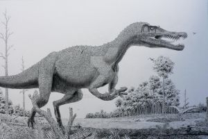 Baryonyx. by Frank-Lode