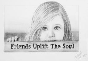 Friends Uplift The Soul by margaret-art