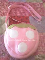 Strawberry bag by VioletLunchell