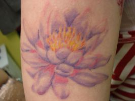 lotus tattoo by daredevil840