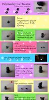 Polymerclay cat tutorial by MonsterkittenCrafts