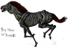 Diomedes horse-Coloured by Schytelizard94