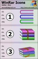 Winrar Icons by bezem049