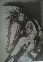 DEATH NOTE by Victoire91-SJ