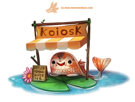 Daily Paint 1301. Koiosk by Cryptid-Creations