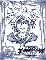 Kingdom Hearts II - Sora by NailoSyanodel
