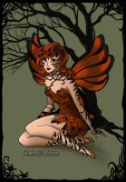 Tiger Faery by BritishFaery