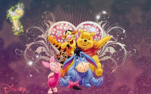 Pooh and Friends 4 Ever by michello1976