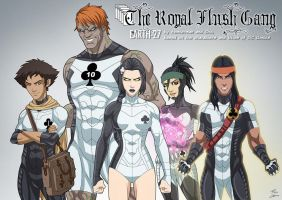 Royal Flush Gang (Earth-27) by phil-cho