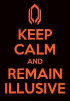 Keep Calm Illusive Man by BronzeAthlete
