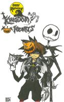 A Kingdom Hearts Halloween by VashDounts7