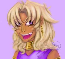 Marik Ishtar paint by Kiki-the-cat-demon
