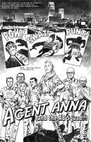Agent Anna and the AB Squad by 66lightning