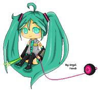 Hatsune Miku by AngelPowah