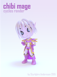 Chibi mage, Cycles render by StyrbjornA