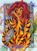 MARVEL - Tigra by WojikHell