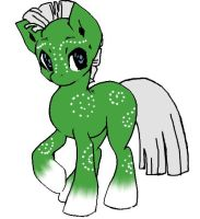 Green Pony Adopt by YandereAxeGirl