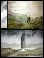 Sabriel graphic novel page by LauraTolton