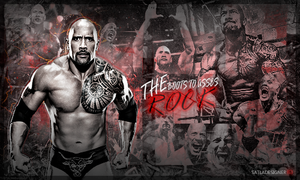 The Rock Signature by SatlaDesigner
