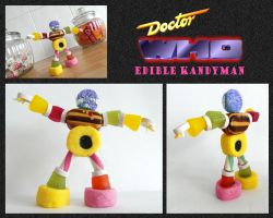 Edible Kandyman by mikedaws