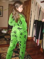 the riddler's Pajamas Behind by SubRosa-undertherose
