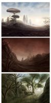 Morrowind Speedpaintings by Isriana