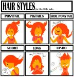 Hair style meme - Flame Princess by natto-ngooyen