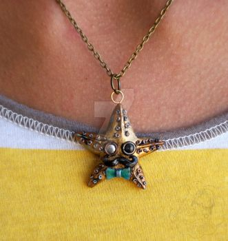 Sir Isaac the Sea Star by colourful-blossom