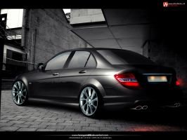 Mercedes C rear by hesoyam25