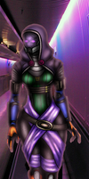 Tali at the new station by Vetom