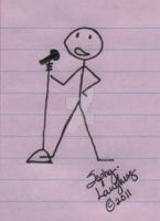 My 1st Stick Figure by SophlyLaughing