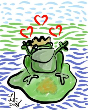 Frog Prince in Love by lehsa