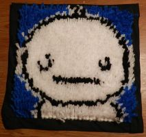 Little Cry Rug by Yoroko666