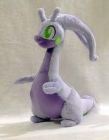 Goodra Plushie :v2: by AppleDew