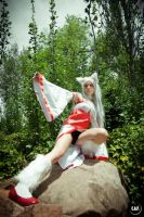 Godess Amaterasu ~ Okami Cosplay by Shady-Chan