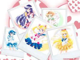 Sailor Moon Wallpaper by DreamsInTokyo