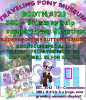 Bronycon 2015 Vendor Hall Map Final by InkyNotebook