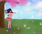 Music in the Wind by Melody-Musique
