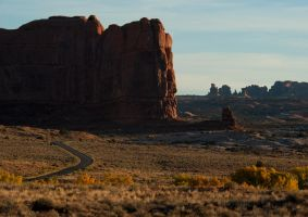 Road To Arches by jamezevanz