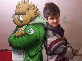 Junichi and Me by fb1907