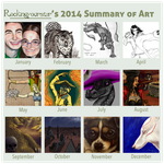 2014 Summary of Art by rockingyourstar