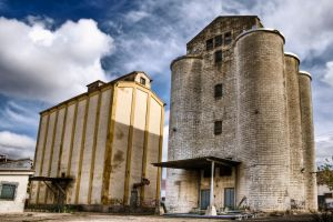 silos fabricas by SuperStar-Stock